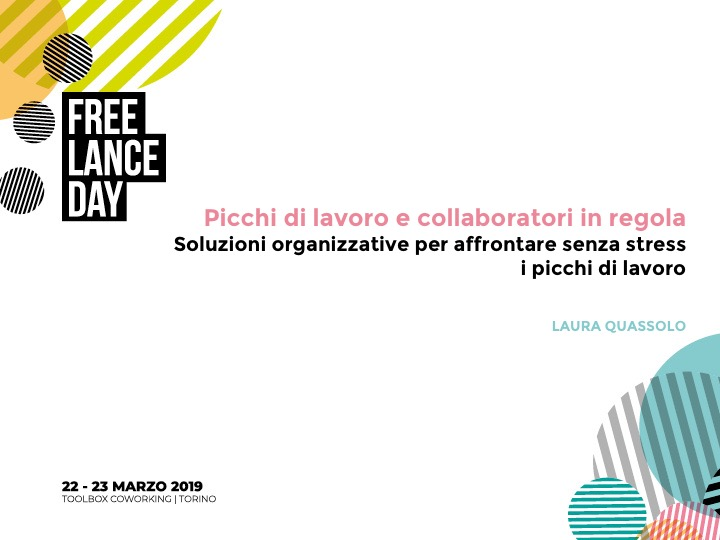 intervento al freelance day 2019